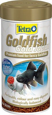 TetraFin Gold Japan Exotic Growth Colour Fancy Goldfish Oranda Coldwater  Food